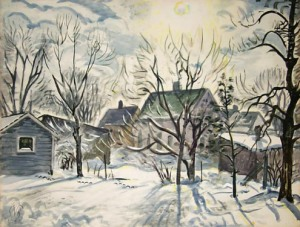 burchfield-winter-sun-and-backyards-19471