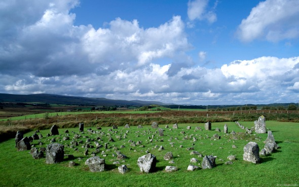 Beaghmore Stone Circles, Sperrin Mountains, County Tyrone, North Ireland