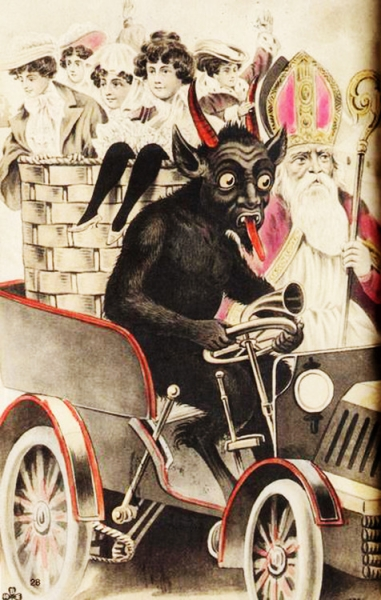 krampus and st nick