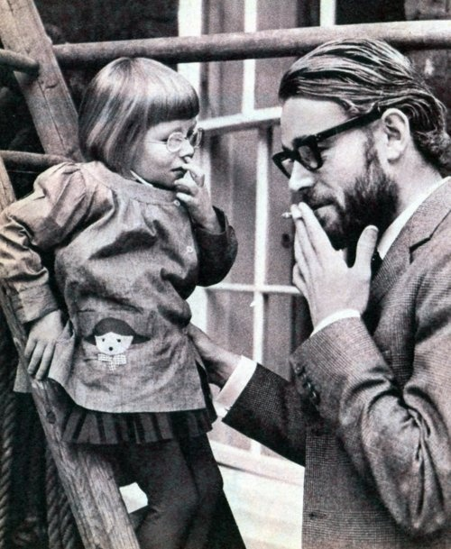 Peter O'Toole and his eldest daughter, Kate