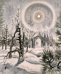 winter moonlight