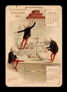 Antikamnia calendar 1900 jan.feb francais
