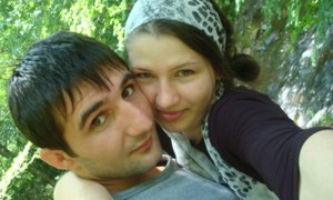 Ibragim Todashev and Reni Manukyan (courtesy of The Guardian)