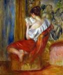 Reading Woman 1900Renoir