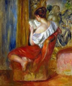 Reading Woman 1900 Renoir
