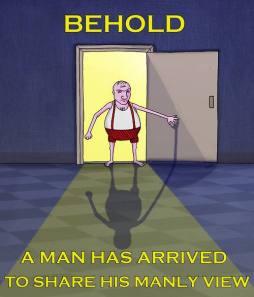 behond a man!!!