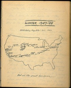 Kerouac map