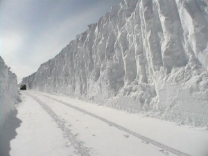 Snowdrifts in North Dakota