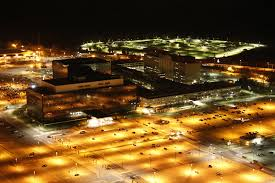 NSA at night