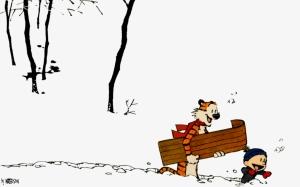 Calvin&Hobbes snow