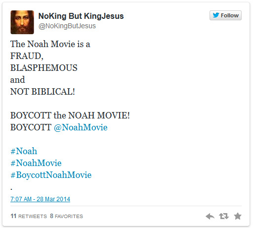 'Noah'- Twitter conservatives outraged that film deviates from Bible's original English - The Raw Story 2014-03-30 02-39-40