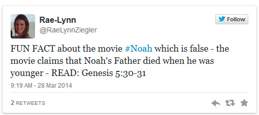 'Noah'- Twitter conservatives outraged that film deviates from Bible's original English - The Raw Story 2014-03-30 02-40-28