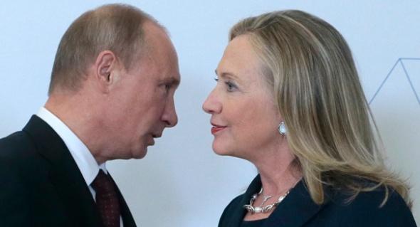 Vladimir Putin,Hillary Rodham Clinton