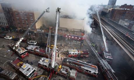 APTOPIX NYC Explosion