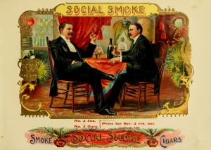Stock Graphics Vintage Cigar Labels