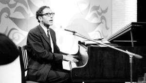 Tom Lehrer performing