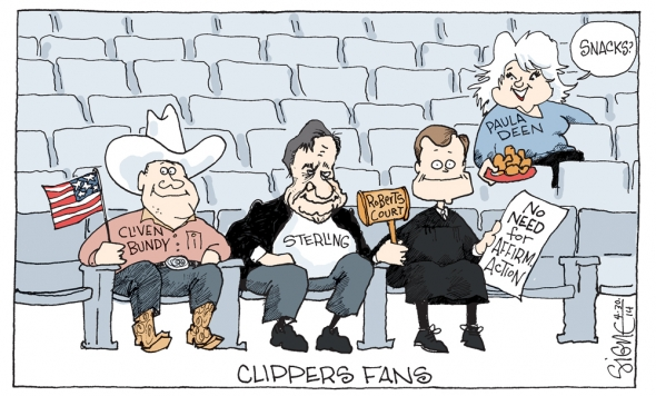 clippers fans