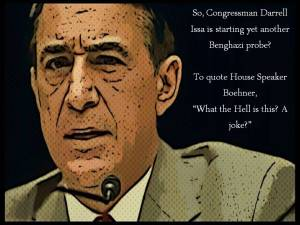 Remember when Boehner thought Benghazi investigations were stupid?