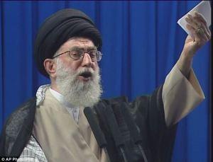 Iran's supreme leader Ayatollah Khamenei in 2009