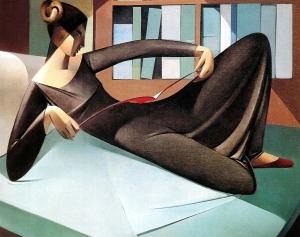 Reading Woman, Armando Barrios