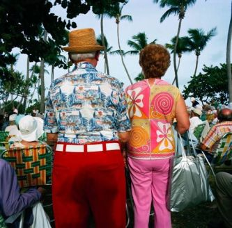 Jewish Retirees Photographed in Miami in the 80s Gay Block