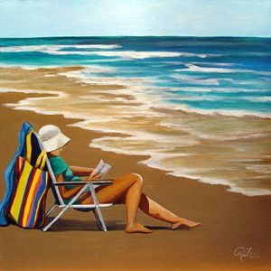 Solitude, Woman at the Beach, Rita C. Ford