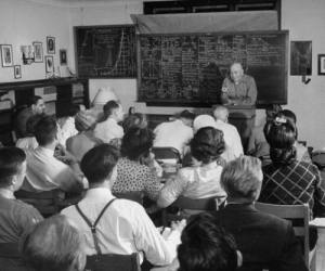 vintage_classroom_college_university_students_professor