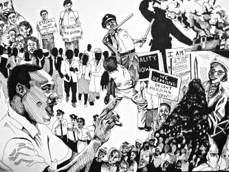 Civil Rights Movement, Camille Shumann