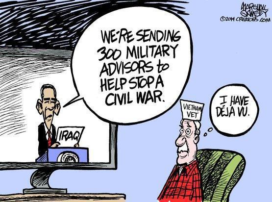 Deja vu cartoon