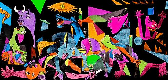 Technicolor Guernca, by Loui Jouver