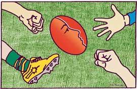 Jim Pavlidis, Football violence against women