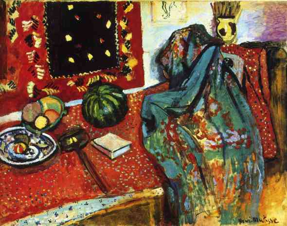 Still Life with a Red Rug, Henri Matisse (1906)