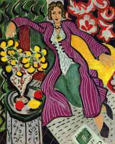 Woman in a Purple Coat, Henri Matisse (1937)