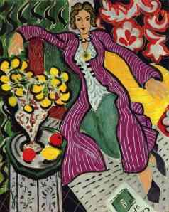 Woman in a Purple Coat, Henri Matisse (1937)