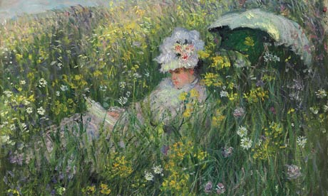 Dans la Prairie, Claude Monet
