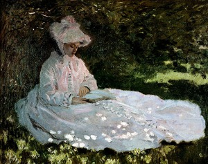 A Woman Reading, Claude Monet