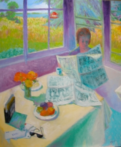 Morning Coffee, by Carol Bolt
