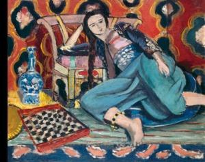 Odalique with a Turkish Chair, Henri Matisse