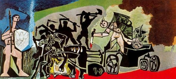 War, Pablo Picasso