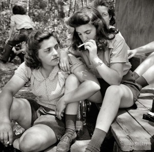 Relaxing after Lunch, 1943