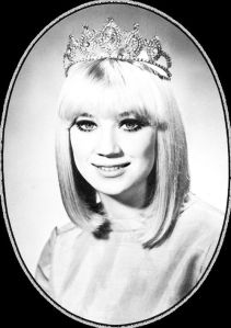 Sissy Spacek, Homecoming Queen at Quitman High School, 1968