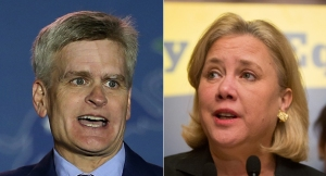 Bill Cassidy and Mary Landrieu