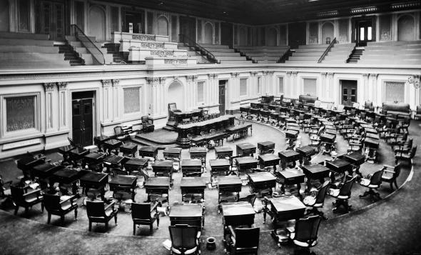 U.S. Senate Chamber, 1873