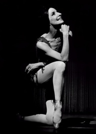 Cuban ballerina Alicia-Alonso as Carmen.