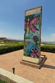 Ronald Reagan Presidential Library 2010 - 31 by JasonianPhotography on Flickr. A piece of the Berlin Wall. November 9th of this year will be the 25th anniversary of the Berlin Wall.