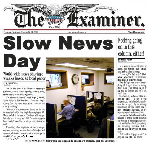 Slow-News-Day