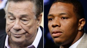 Donald Sterling and Ray Rice