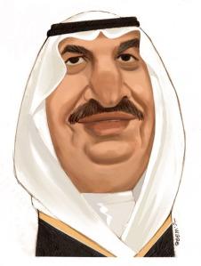 CARICATURE: Nayef bin Abdul Aziz