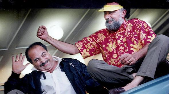 Tom Magliozzi (right) with brother Ray