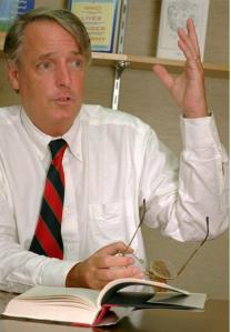 Joe McGinniss in 1996